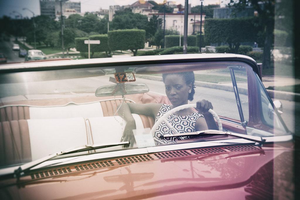 a ride in Havanna